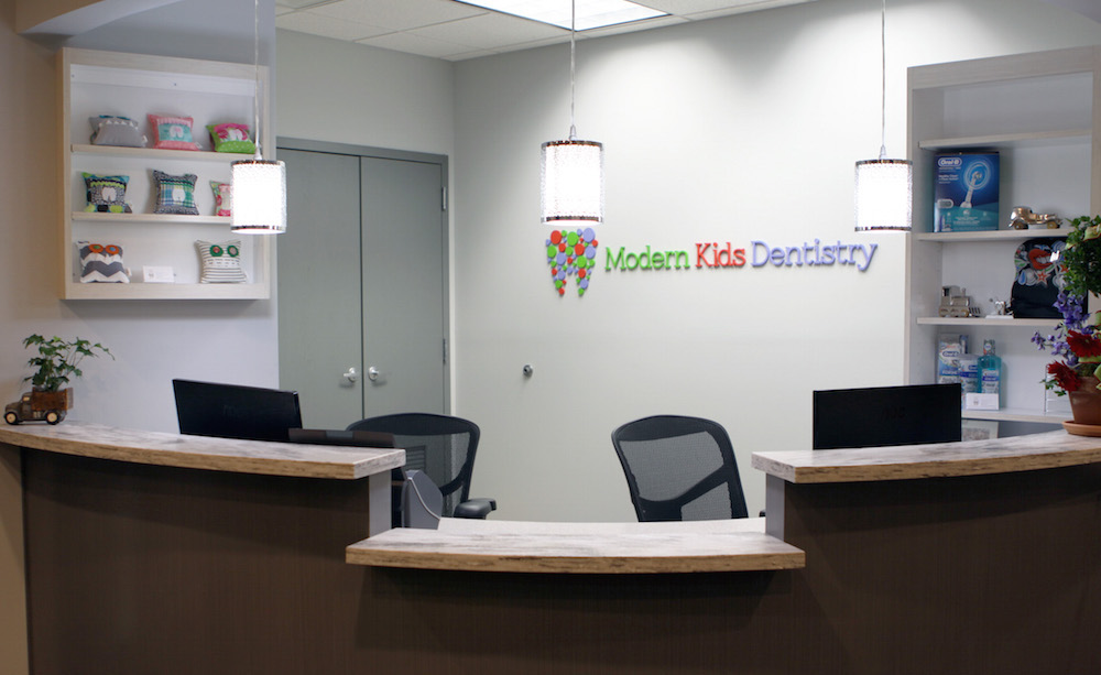 Modern Kids Dentistry Office